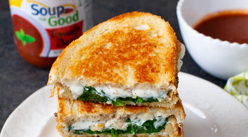 Pesto & Spinach Grilled Cheese