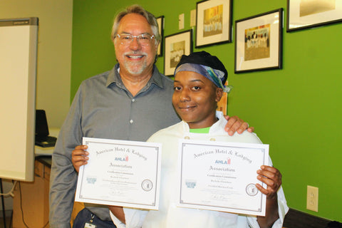 Rachelle, Second Harvest Food Bank of Central Florida Culinary Training Student
