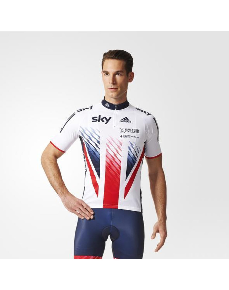 a82c6575916 adidas British Cycling Team Replica SS Jersey – Ferrobike