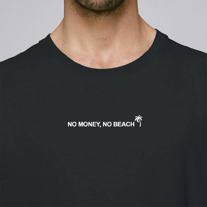 tshirt no money no beach