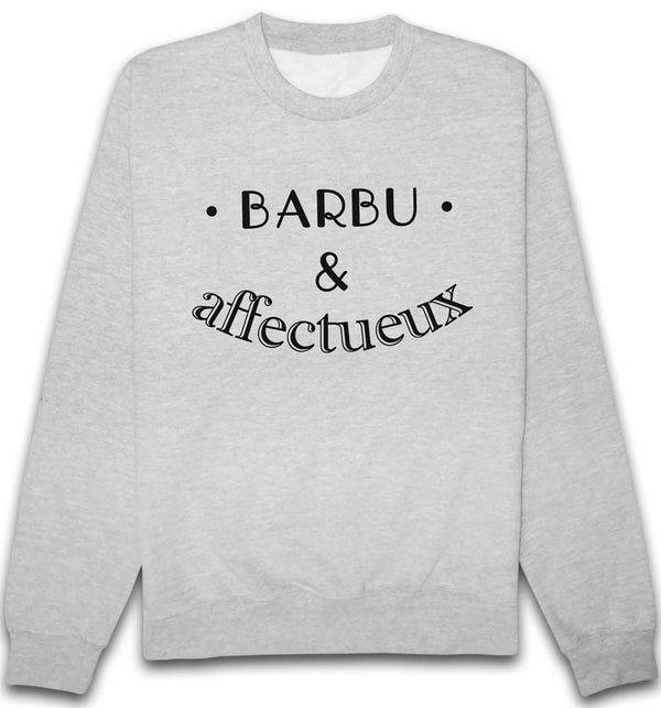 Sweat Barbu et affectueux