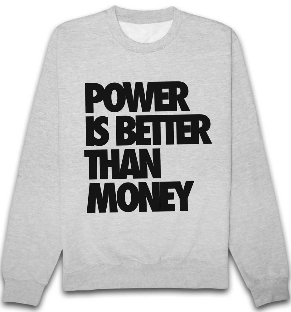Sweat Power is better than Money