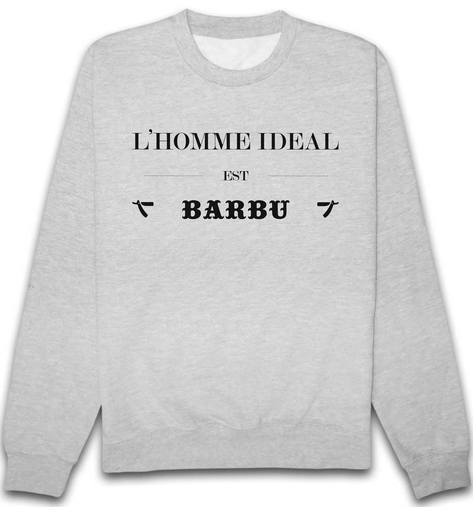 Sweat ideal barbu