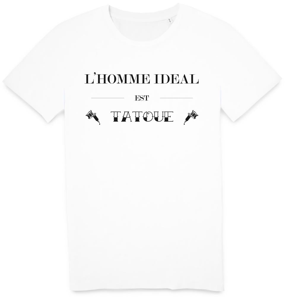 Tshirt ideal tatoué