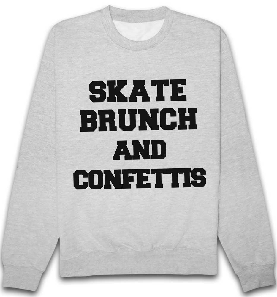 Sweat Skate, brunch and confettis