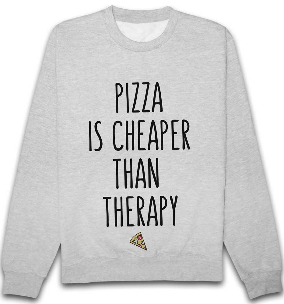 Sweat Pizza is cheaper than therapy