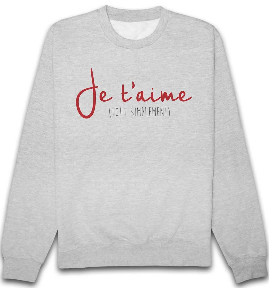 Sweat Je t'aime