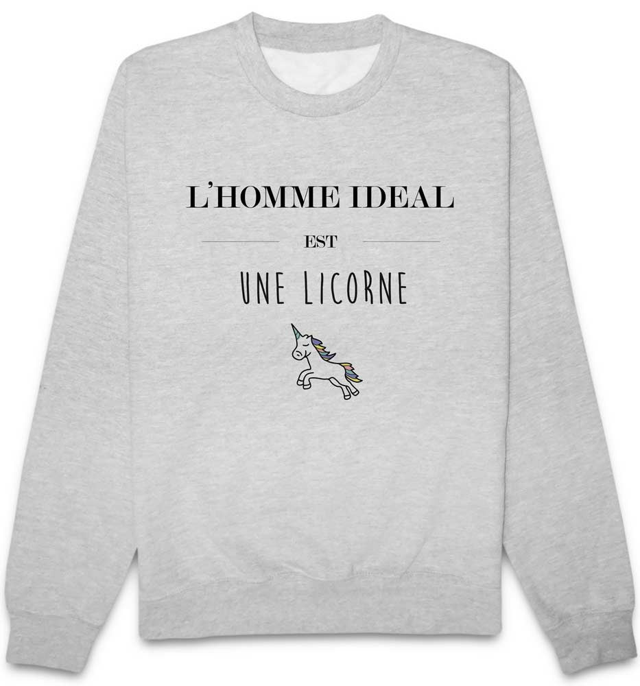 Sweat Ideal Licorne
