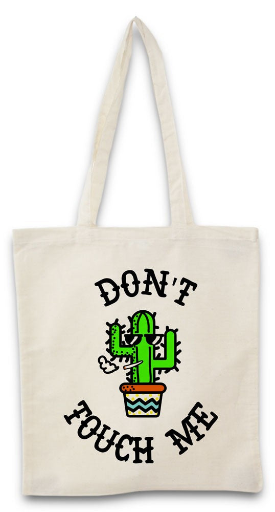 Tote bag Don't Touch Me
