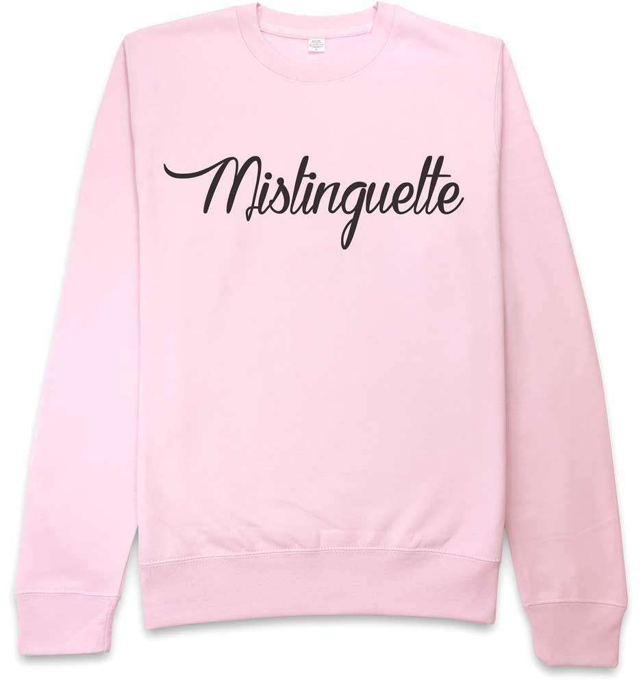 Sweat rose Mistinguette