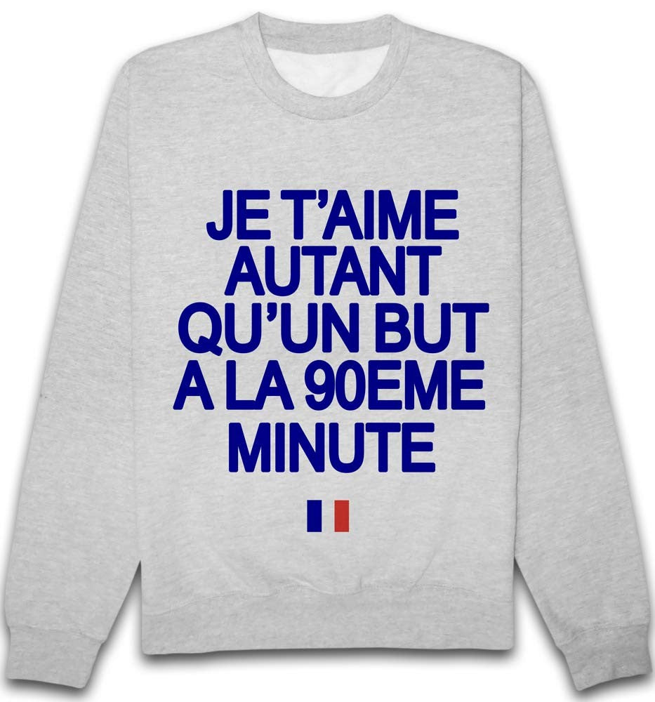Sweat Je t'aime 90 France