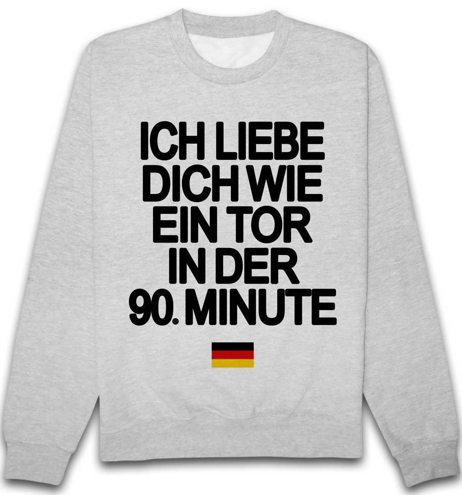 Sweat Je t'aime 90 Allemagne