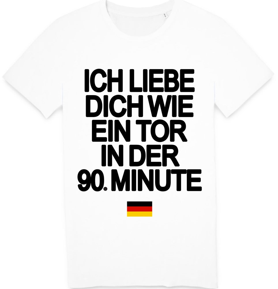 Tshirt Je t'aime 90 Allemagne