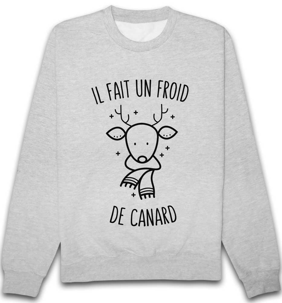 Sweat froid de canard