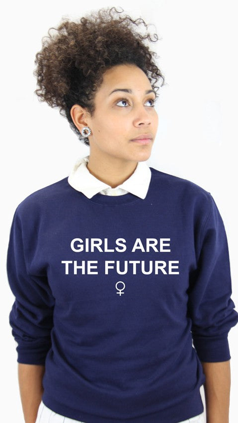 Sweat Girls are the future (navy)