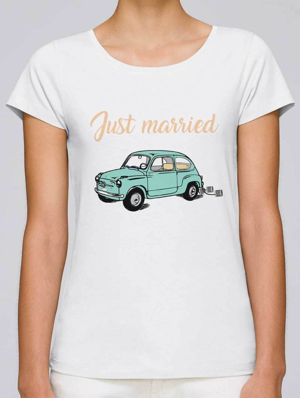 tee shirt just married
