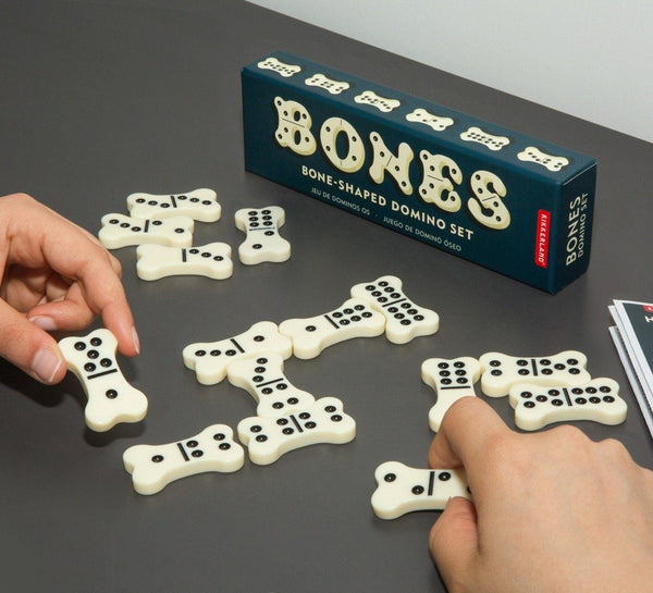 Bone-Shaped Domino Set Kikkerland