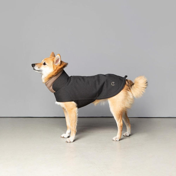 Brooklyn Waterproof Graphite Coat Cloud7