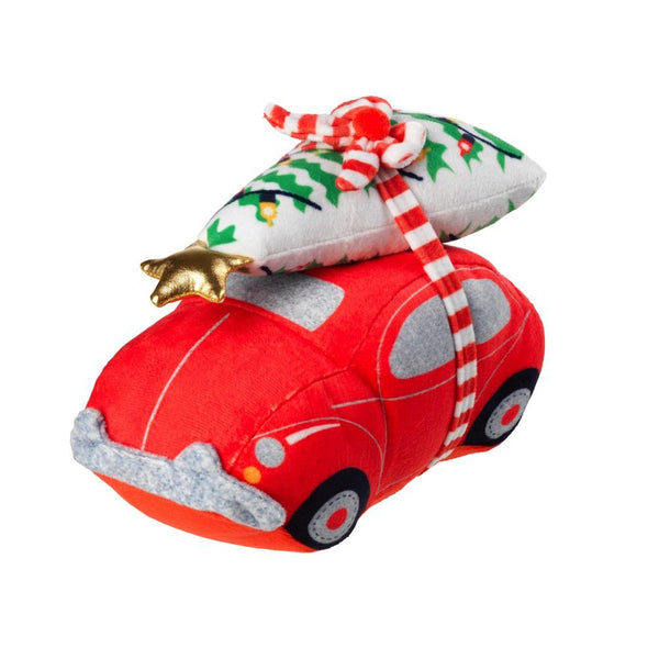 Car & Tree Plush House of Paws