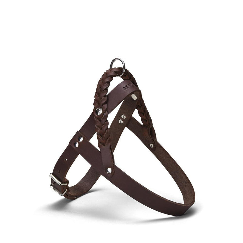 Central Park Harness Cloud7 Saddle Brown S