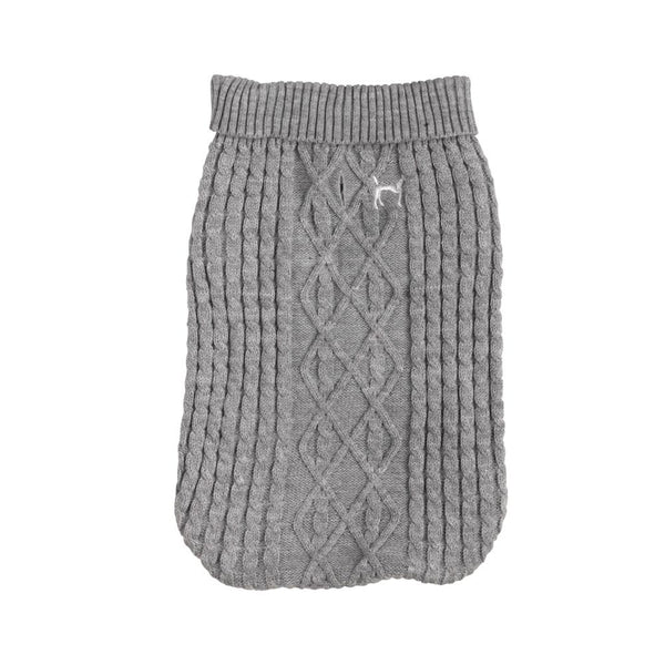 Christmas Cosy Jumper House of Paws XS Grey
