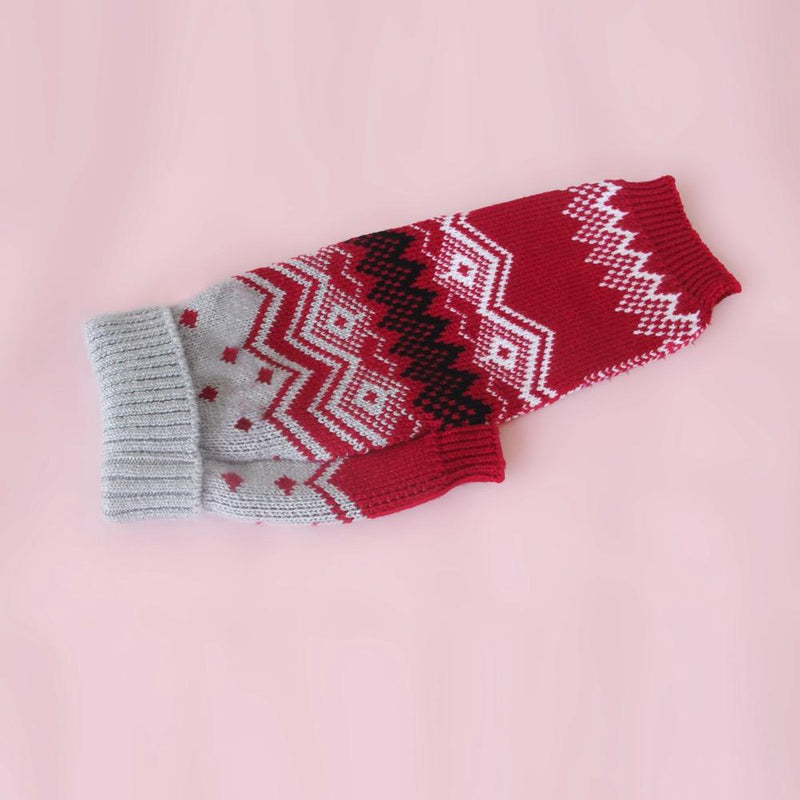 Christmas Fairisle Woolly Lou