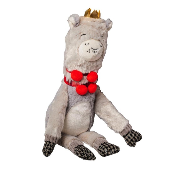 Christmas Llama Plush Toy House of Paws