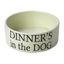 Dinner's Dog Bowl House of Paws S Dinners's In The Dog