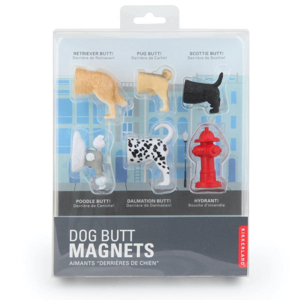 Dog Butt Magnets Kikkerland
