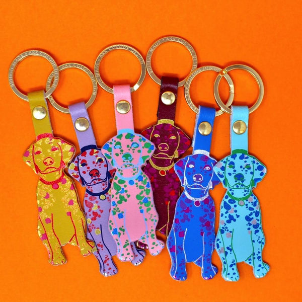 Dog Key Chain Ark Colour Design