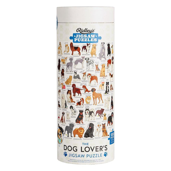 Dog Lovers Jigsaw Puzzle Ridley's Games