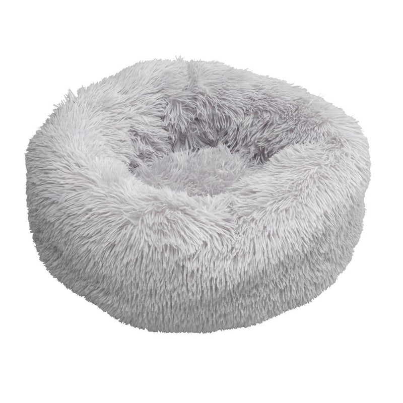 Donut Comfy Bed House of Paws S/M Grey