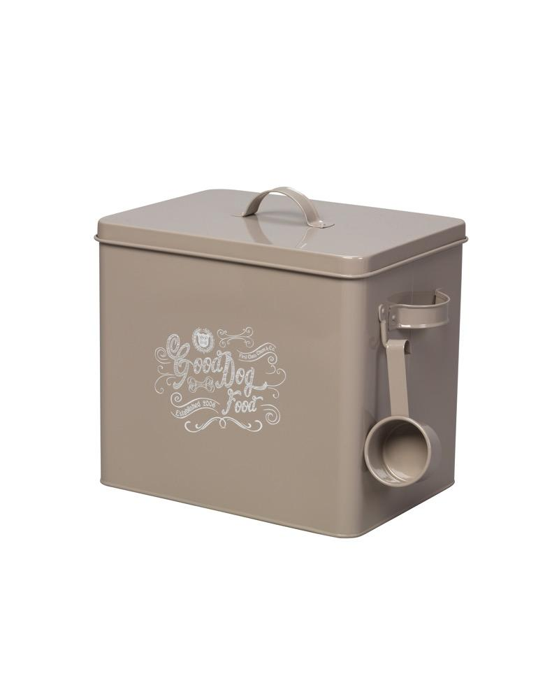 Food Storage Tin House of Paws Large (w/ scoop)