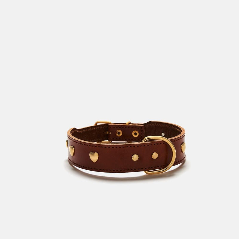 Heart Collar Branni XS Brown