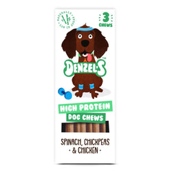 High Protein Dog Chews Denzel's