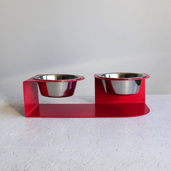 Long Ears Bowl Hello Pets S Red