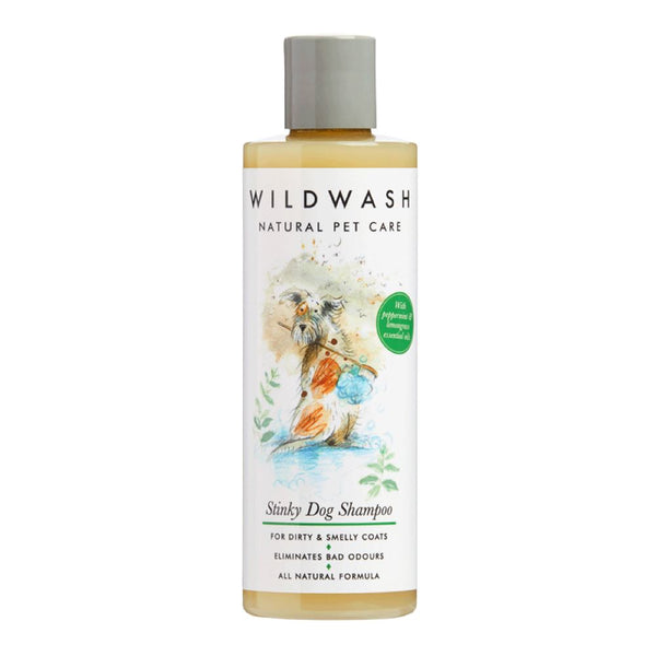 Organic Stinky Dog Shampoo Wild Wash