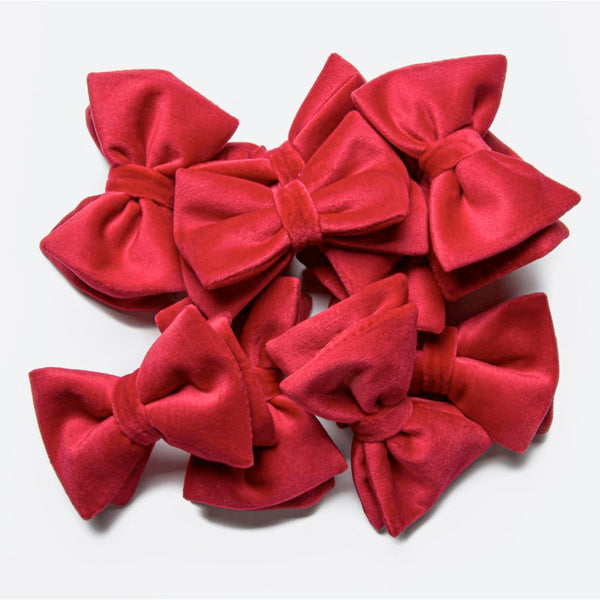 Red Velvet Bow Tie Cloud7