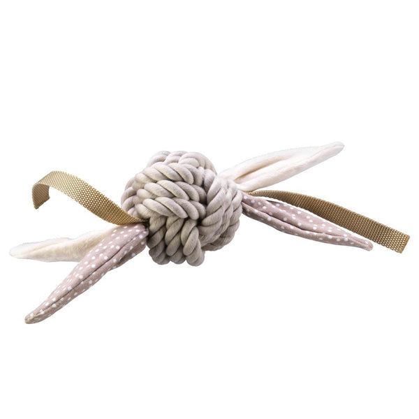 Rope Ball Toy House of Paws Beige