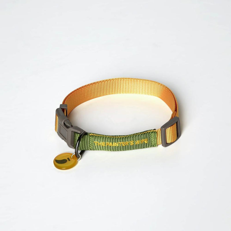 Sonia Collar The Painter's Wife XS Green/Yellow