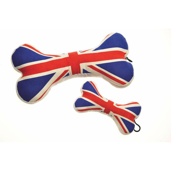 Union Jack Bone Toy DoggySquad