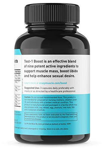 Testosterone Booster Supplement for Men and Women