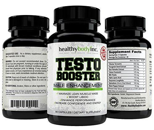 Top Quality Natural Testosterone Booster