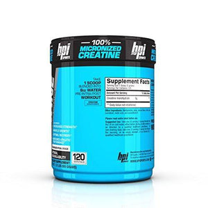 BPI Sports -Micronized Creatine, Unflavored, 600 Grams, 120 Servings