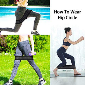 Inverlee Non-Slip Hip Belt Upturned Hip Hip Lift Elastic Band