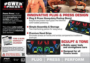 Power Press Push Up - Complete Push Up Training System