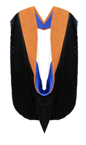 IN-STOCK GRADUATION DOCTORAL HOOD - APRICOT VELVET