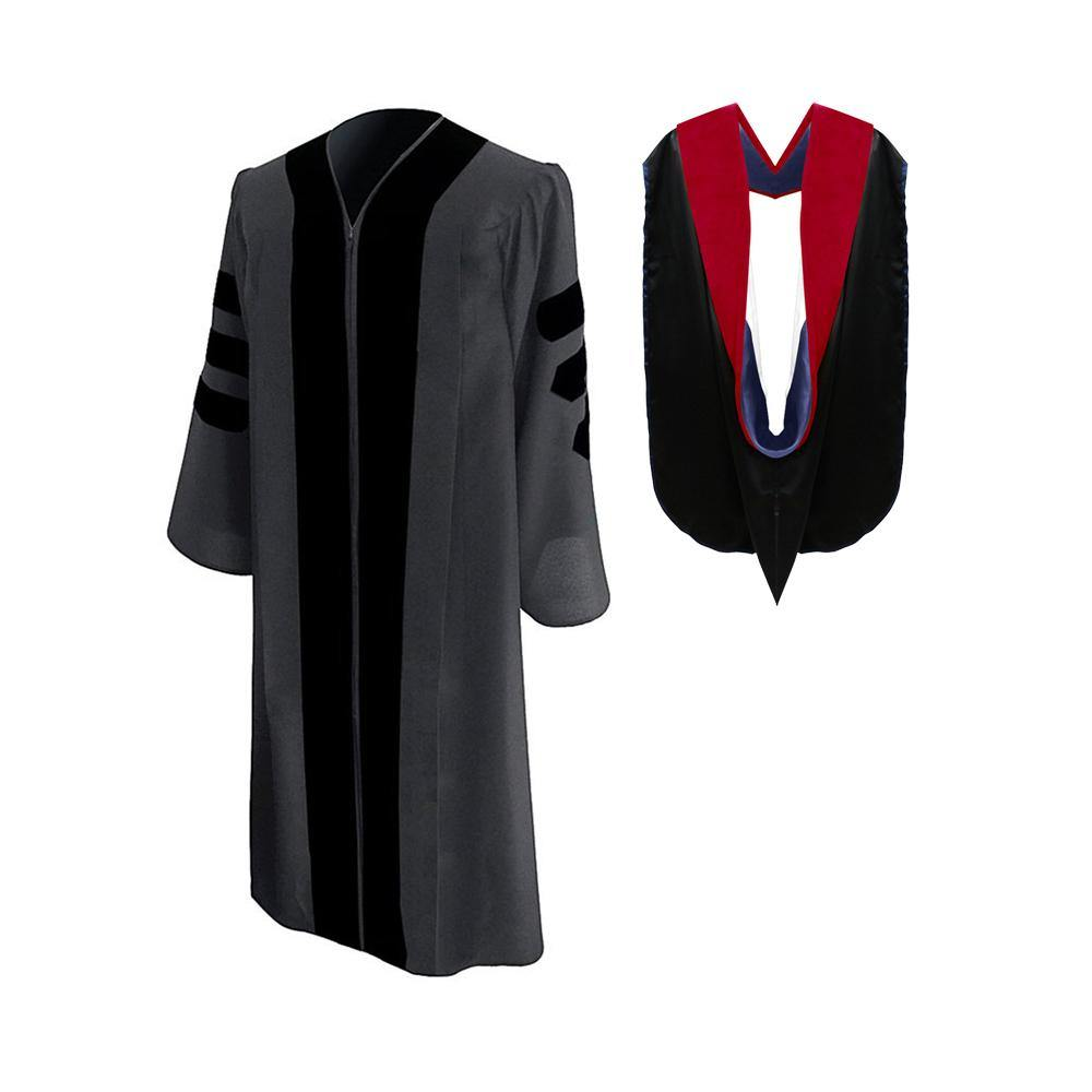 Classic Faculty Graduation Gown & Hood Package - Graduation Attire