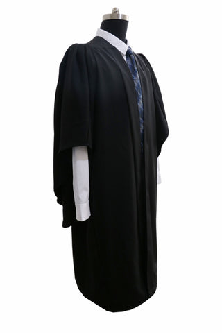 Classic Black Bachelors Graduation Gown - UK University Gown - Graduation UK