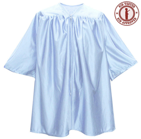 Child Light Blue Graduation Gown - Preschool & Kindergarten Gowns - Graduation Attire